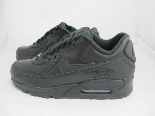 nike air max all black leather