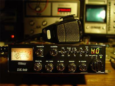 Galaxy Dx 949 40 Ch Am/ssb Cb Radio,>>supertuned On Oscilloscope