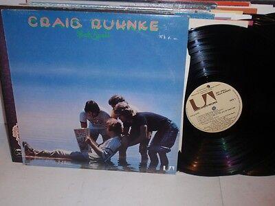 CRAIG RUHNKE Hot Spell LP United Artists UA LA 6416
