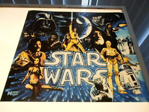 Star Wars Data East Pinball Machine Translite