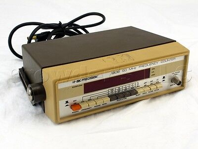Bk Precision 80 Mhz Frequency Counter 1805 Used