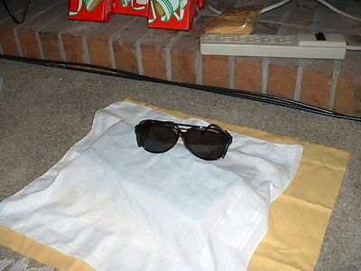 Tinted Safety Glasses--Great for Sunny Day YARD WORK...LQQK...!!