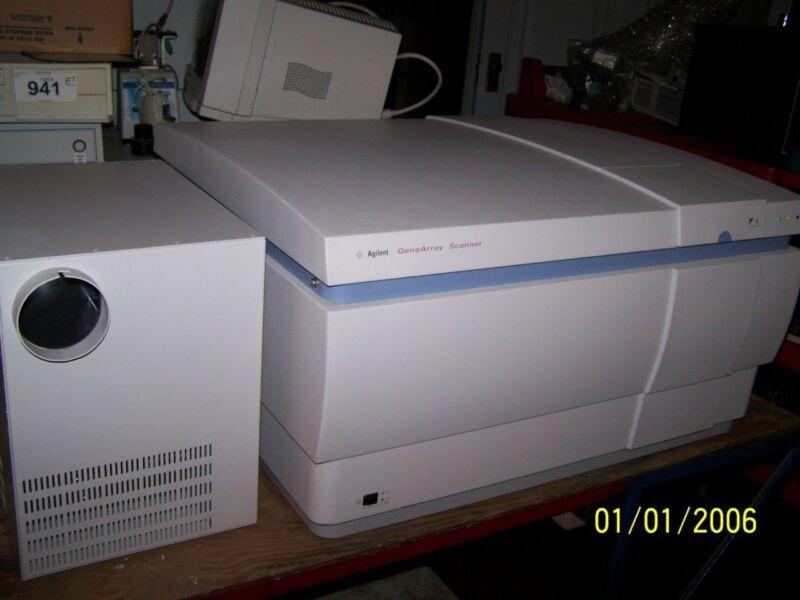 Affymetrix Agilent GeneArray Scanner G2500A & Power Module