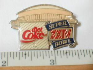 Coca-Cola-Diet-1988-Super-Bowl-XXIV-Pin