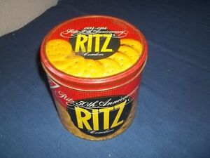 Used-Ritz-50th-Anniversary-Ritz-Crackers-Advertising-Empty-Can-Tin