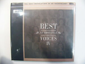 Best Audiophile Voices 4 XRCD CD NEW Salena Jones Stacey Kent Jheena Lodwick