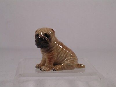 Northern Rose Miniature Porcelain 'Shar-Pei' Dog Figurine  #R298  NEW!