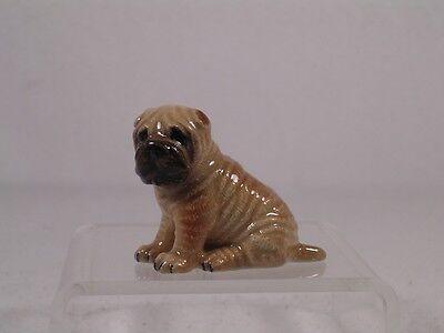 Northern Rose Miniature Porcelain 'Shar-Pei' Dog Figurine  #R298  NEW!