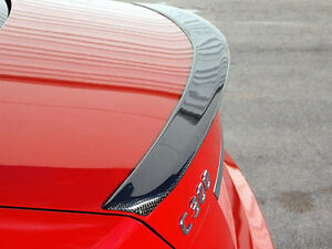 Carbon-Mercedes-W204-Trunk-Deck-Lip-Spoiler-A-Type-Class-C-Sedan-2008-2013