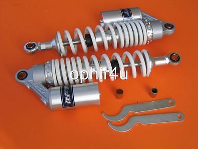 13.50 Rear Gas Shocks For Honda Ct70 Ct70h Adjusted Shocks Piggy White