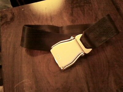 airplane seatbelt extender black new fm AMSAFE CO  on Rummage