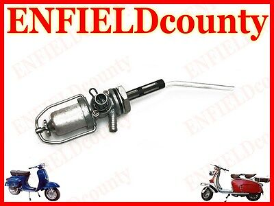 BRAND NEW VESPA PETROL FUEL GAS TAP ASSEMBLY WITH RESERVE <em></em>...