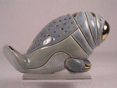 DeRosa Rinconada Silver Anniversary 'Manatee' Figurine  - NEW #751  RETIRED NIB