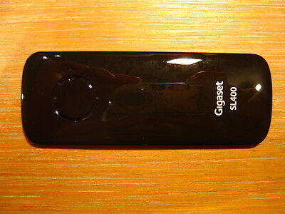 Akkudeckel Batteriedeckel für Siemens Gigaset SL400 Rechnung mit 19% MwSt A NEU