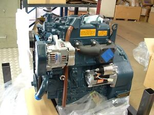 Kubota D1105-BG Generator Spec diesel engine, Brand New with Warranty