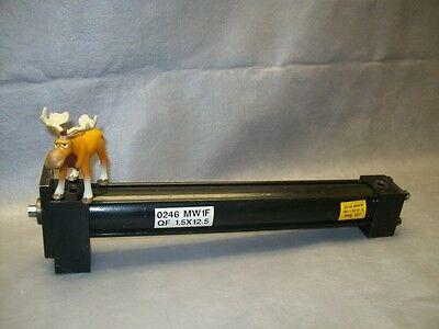 Parker Hydraulic Cylinder 0246 Mw1f 1.5 Bore 12.5 Stroke