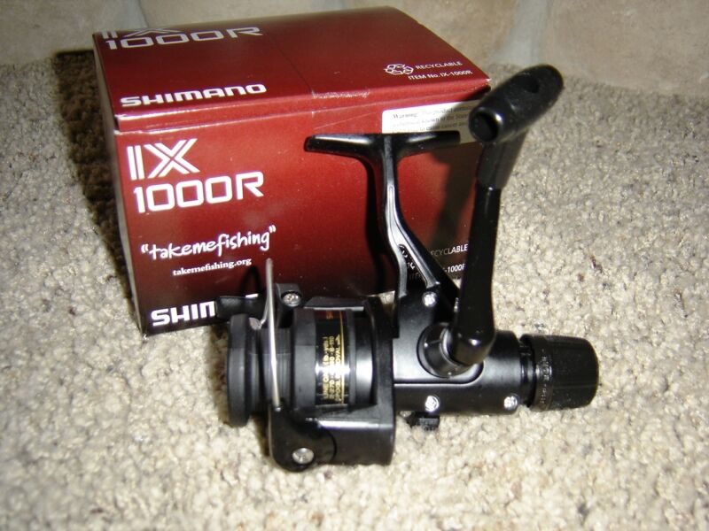 Shimano IX1000R IX Rear Drag Spin Reel with 2/270, 4/140 and 6/110 Line Capacity IX1000R