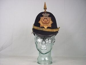 Victorian-Devonshire-Regiment-Home-Service-Spikehelmet-With-Brass-Mounts