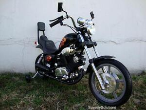 Kids-Electric-Battery-Power-Ride-On-Black-Motorcycle-Harley-15-Wheels
