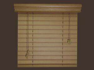 2-Elegant-Fauxwood-Window-Blinds-Size-54-x-36-5-Beautiful-Colors