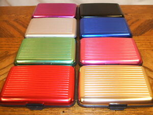 DELUXE-ALUMA-STYLE-ALUMINUM-WALLET-RFID-PROTECTION-USA-SELLER-8-COLORS