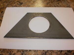Weld-On-Bracket-Mount-Triangle-for-2-Round-sealed-Grommet-Light-LED