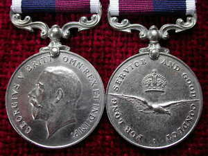 Replica-Copy-GV-RAF-Royal-Air-Force-Long-Service-Good-Conduct-Medal-Full-Size