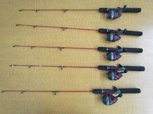 Zebco dock demon spincast fishing rod and reel combo lot for Dock demon fishing rod