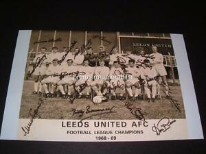 LEEDS-UNITED-FC-1968-69-LEAGUE-CHAMPIONS-SIGNED-x-18-BILLY-BREMNER-DON-REVIE