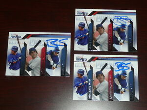 1-BRETT-JACKSON-BLAKE-SMITH-Signed-2009-TriStar-Prospects-Card-AUTO-Autograph