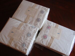 NEW-Pottery-Barn-Kids-Dahlia-Cuff-Sheet-set-Twin-Full-Queen-NWT-more-available