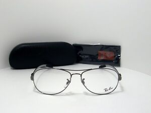 New Authentic Ray Ban Eyeglasses RB 8403 2502 RB8403 Carbon Fibre Collection