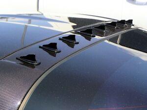 10pc Universal Vortex Generators Roof Shark Fins Spoiler