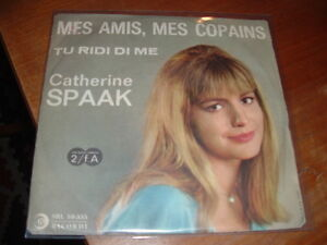 Catherine Spaak Mes Amis Mes Copains Tu Ridi Di Me