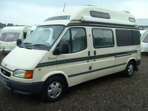 Ford Transit Duetto Auto Sleeper Motorhome  2.5 Diesel 2 Berth Very Compact