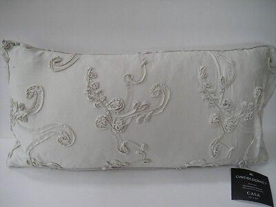 Cynthia Rowley casa Elongated Pillow Taupe 12x24