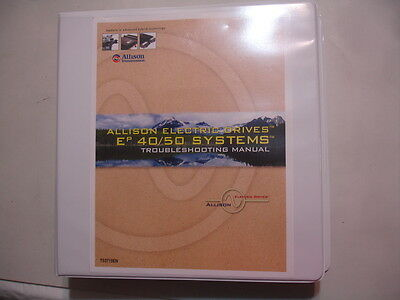 Allison Transmission Electric Drives Ep 40 50 Troubleshooting Service Manual