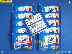 Panini WM 1998 WC 98 World Cup 10x Tüten/packets/bustine - RAR !!! - Wien, Österreich - Panini WM 1998 WC 98 World Cup 10x Tüten/packets/bustine - RAR !!! - Wien, Österreich