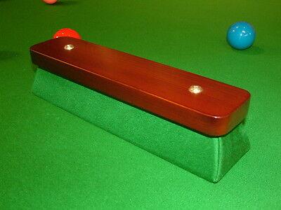 PERADON SNOOKER, POOL, BILLIARD TABLE NAPPING BLOCK NEW Inc- Free Chalk Holder !