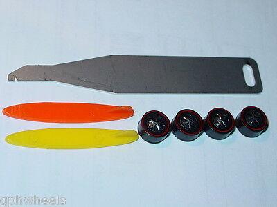 Hot Wheels Redline Beach Bomb Wheel Tune Up Wrench Boards & Wheel Kit