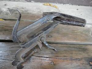 Antique Stearn's Saw Sharpening Vise Syracuse NY Tool