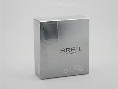 Breil Milano Black Eclipsis Edt Spray For Men 1.7oz 50ml In Box
