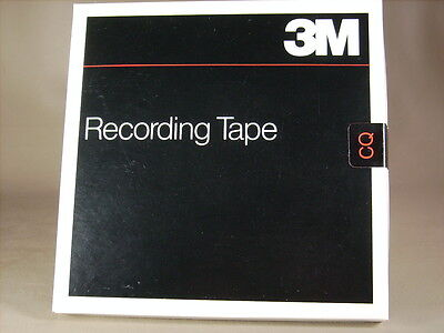3m 809 1/4 1800  Pr7 Reel To Reel Recording Tape new Old Stock