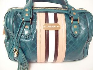 L-A-M-B-GWEN-STEFANI-MUSIC-FADEOUT-SATCHEL-PURSE-LEATHER-LARGE-13X10X6-EXCLN