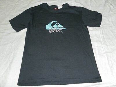 Boys Navy Quiksilver Surf Shirt Top L Quicksilver