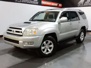 2004 Toyota 4Runner SR5 4.7LITRES- MARCHE-PIEDS-AWD-MAGS-FOGS SR