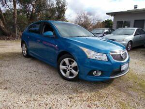 2012 Holden Cruze JH Series II MY12 SRi-V Blue 6 Speed Manual Hatchback Bayswater North Maroondah Area Preview