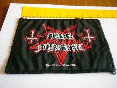 DARK FUNERAL – very rare old original 1997  Patch!!!