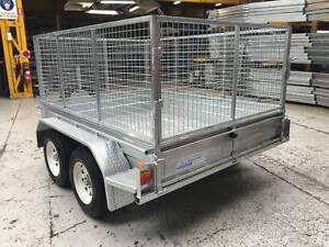 8 X 6 Tandem Axle Caged Box Trailer REGISTERED Mortdale Hurstville Area Preview