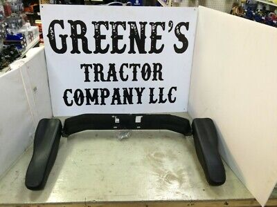 Folding Armrest For Tractor Seat Fits New Kioti Tractors With Orange Stitching